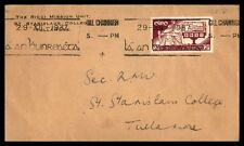 Ireland Gill Channigh 1937 First Day Cover FDC Scott 99 Single Franking