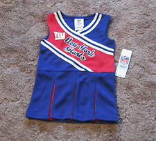 New York Giants Cheerleading  Outfit NWT Girls Sz 18 mos, 2T, 3T
