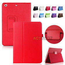 Magnetic Folio PU Leather Case Cover W/ Stand For Apple iPad Air Mini Pro Series