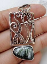 Gemstone Pendant Bali Handcrafted 925 Solid Silver, 25565