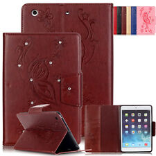 Flip Card Slot Leather Case Wallet Cover Skin For Apple iPad Pro /Air 2 /4/mini4