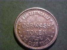 CAR WASH TOKEN GOOD FOR $1.00 IN TRADE 22 MM  WM S-21