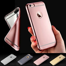 Luxury Ultra thin Slim Case Silicone TPU Gel Soft Cover Bumper For iPhone 7 Plus