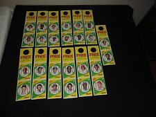 Old 1981 Topps Squirt baseball Card complete set of cards panels Pete Rose +