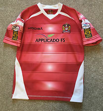GORGEOUS WIGAN WARRIORS RUGBY LEAGUE SHIRT LARGE BOYS SMALL S MANS