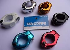 """Dia-Compe 1 Bolt ' Hinged ' Seat Post stem Clamp 25.4 MX1500 Old school 1"""""""