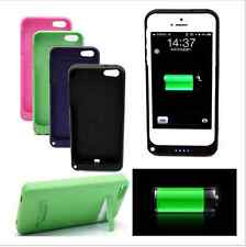 Hot 2200mAh Rechargeable Backup Charger Case Cover Power Bank For iPhone 5 5S SE