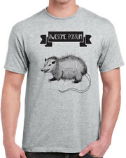378 Awesome Possum mens T-shirt funny t-shirt mammal animal lover vegan shirt