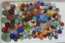 GENUINE BEACH SEA GLASS MARBLES SURF-TUMBLED Lot of 127