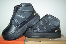 Boy's New Nike Little Lebron III Black Lebron James Toddler Shoes with Gold Trim
