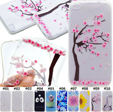 Retro TPU Transparent Soft Gel Silicone Case Cover For Huawei P8 Lite(2017) 5.2""