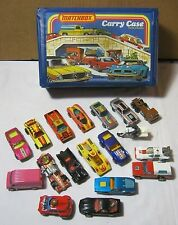 Matchbox Hotwheels Corgi Diecast Car Truck Motorcyle Mixed Lot w/ Case   T*
