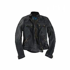 BMW Belstaff Leather Jacket Darley Ladies black