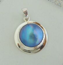 Mabe Pearl Bali Handcrafted Solid Silver, 925 Pendant 38630