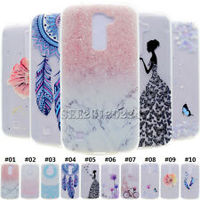 For Asus Zenfone LG Transparent Rubber Soft TPU Paint Gel Back Case Cover Skin