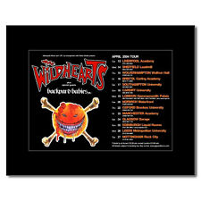 WILDHEARTS - UK Tour 2004 Mini Poster - 13.5x21cm