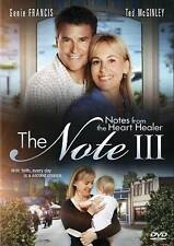 The Note III: Notes from the Heart Healer (DVD, 2012) Like New