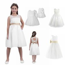 Flower Girl Baby Toddler Clothes Princess Wedding Party Pageant Fancy Tutu Dress
