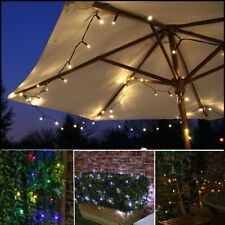 10/15/20m LED Solar Fairy String Light Outdoor Wedding Christmas Party Lamp VT
