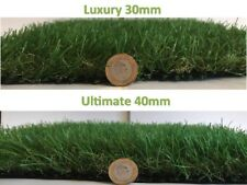 Artificial Grass Carpet Garden Astro Natural Lush Green Turf Lawn Sample Pack
