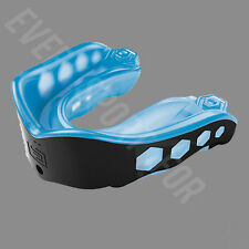 Shock Doctor Gel Max Convertible Strap Mouthguard - Blue/Black (NEW) Lists @ $13
