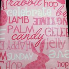 EASTER TABLECLOTH~Vinyl~Flannel Back~ALL SIZES~Words/Bunny/Religeous/Eggs~New