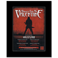 BULLET FOR MY VALENTINE - UK Tour 2013 Mini Poster