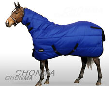 CHONMA  600D 250G Fill Winter Waterproof BreathableTurnout Horse Rug Combo-A30