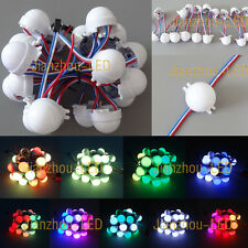 20-200PCS WS2811 30mm 3-LED 5050 RGB LED Pixel Module Full Color Point Light 12V