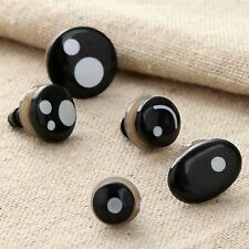 New 5 Sizes Plastic Cartoon Eyes For Kid Toy Teddy Bear Doll Puppet With Washers