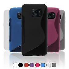 Silicone Case For Samsung Galaxy In S-Style Cover Case Bumper + Protective Foils