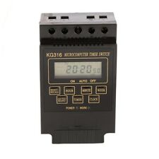KG316T 110V 220V LCD Plastic Microcomputer Timer Switch Programmable Controller
