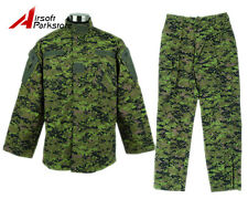 Military Special Force Army Tactical BDU Uniform Shirt Pants Canada Digital Camo