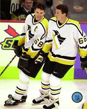 Mario Lemieux & Jaromir Jagr Penguins NHL Action Photo TW170 (Select Size)