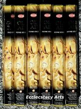 Hem Gold Rain Incense 20-40-60-80-100-120 Sticks You Pick Amount {:-)