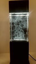 Ortum Mundi, Limited Edition 3D Laser Sculpture in Crystal by Michael Sureda