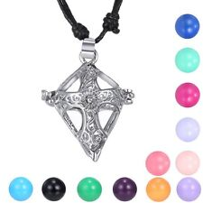 Harmony Ball Cross Angel Sounds Bell Pendant Pregnant Chimes Locket Necklace Hot