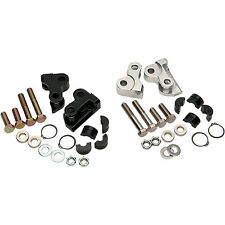 Burly Brand Rear Lowering Kit for Harley-Davidson DS221462 Black Steel