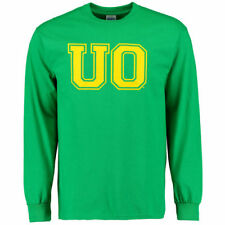 Oregon Ducks Core Logo Too Long Sleeve T-Shirt - Kelly Green - NCAA
