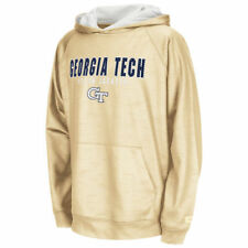Georgia Tech Yellow Jackets Colosseum Youth Surge Stadium Hoodie - Gold - NCAA
