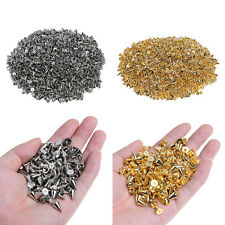 100Pcs 10mm Silver Gold Spots Cone Metal Studs Leathercraft Rivet Bullet Spikes