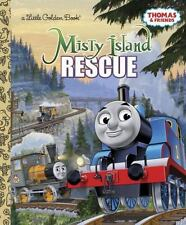 Thomas Tank Engine &Friends Misty Island Rescue New Hardcover Little Golden Book