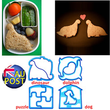 Best Lovely Kid Lunch Sandwich Toast Cookies Cake Bread Biscuit Food Cutter MolV