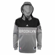 Brooklyn Nets Adidas Youth 2014 Pre-Game Hooded Shooter T-Shirt