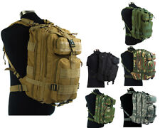 Tactical Molle Hydration Assault Backpack Military Camping Hiking Camouflage Bag