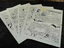 Original Art Story (Archie 423) 5 Pages COMPLETE! STAN GOLDBERG 1994 ART#421