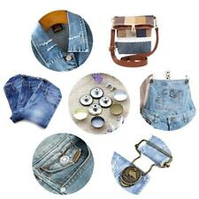 Hammer On Jeans Tack Buttons Bronze - 50 Pieces Fashion Jeans DIY Accessories