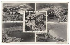 ST IVES Multiview Aerial RP Postcard inc View of Railway Station, Posted 1923