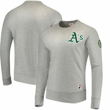 Oakland Athletics Levi's Pullover Sweatshirt - Heathered Gray - MLB