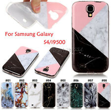 Marble Gel Painted Soft TPU Skin Silicone Back Case Cover For Samsung Galaxy S4